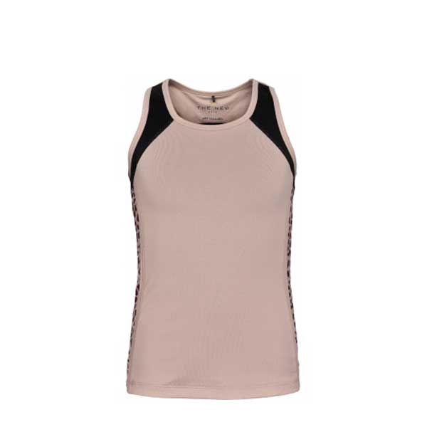 THE NEW PURE PURE LEO BLOCK TANKTOP TANKTOP ADOBE ROSE