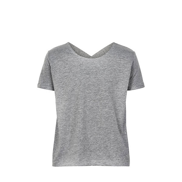 THE NEW PURE PURE LOOSE S_S TEE TANKTOP LIGHT GREY MELANGE