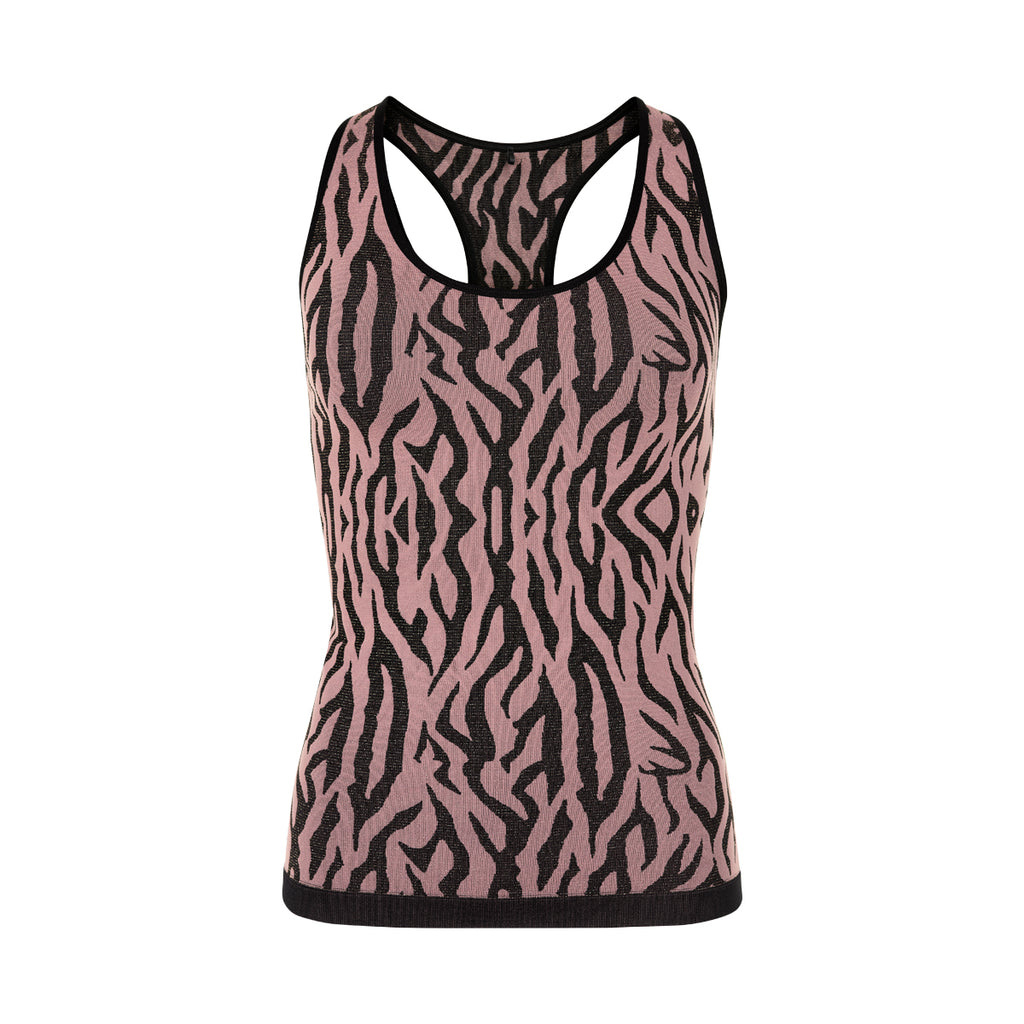 THE NEW PURE PURE Mezebra Tank Top w TANKTOP WINETASTING