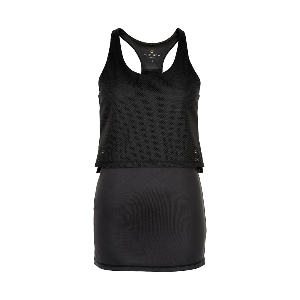 THE NEW PURE PURE Move Tank Top w TANKTOP BLACK