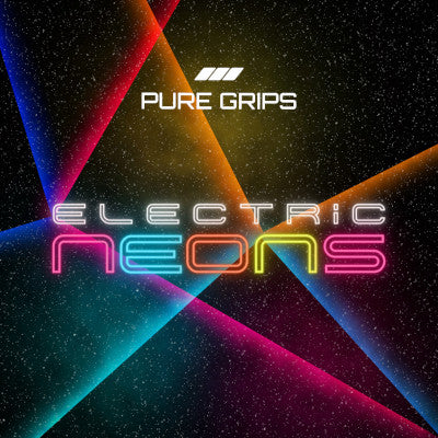 PURE Grips Electric Neons Golf Grips Collection Webpage