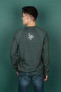 5678 Branded Crewneck - Army Green