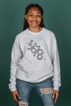 Load image into Gallery viewer, 5678 Branded Crewneck - Ash