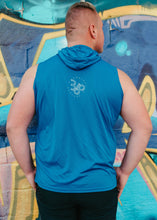 Load image into Gallery viewer, 5678 Branded Sleeveless Hoodie - Royal Blue
