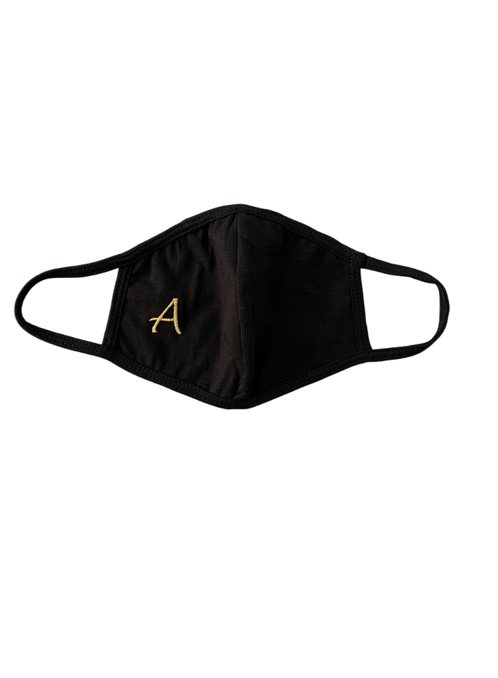 Personalized Monogram Face Mask Embroidered