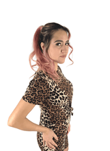 Leopard Animal Print Top