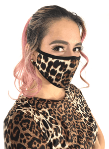 Leopard Animal Print Face Mask