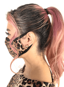Leopard Animal Print Mask