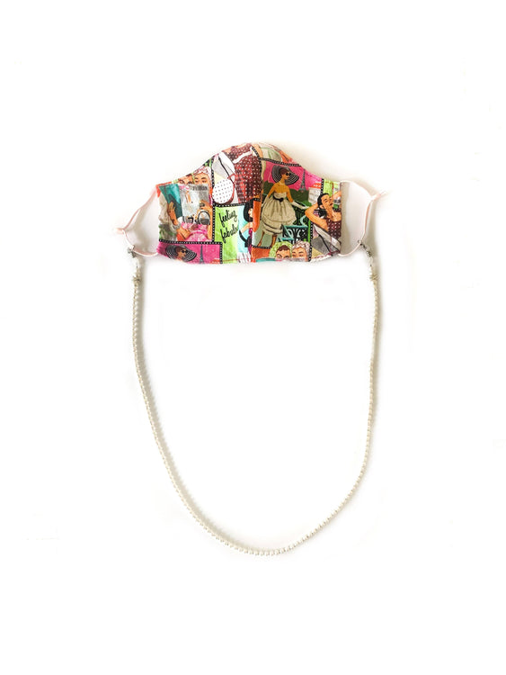 Loose Me Not Pearls!- Face Mask Chain / Eyeglass Strap holder