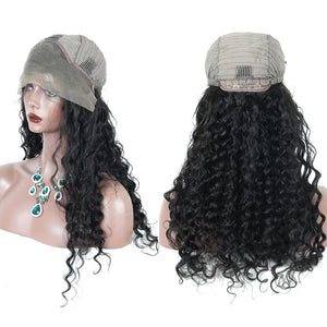 250% Brazilian Lace Front Loose Wave Premium Remy Hair Wig