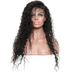 250% Pre-Plucked Brazilian Curly Hair Remy Lace Front Wig