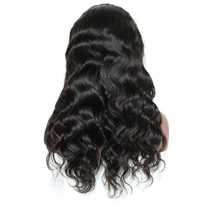 250% Pre-Plucked Brazilian Remy Hair Body Wave With Baby Hair