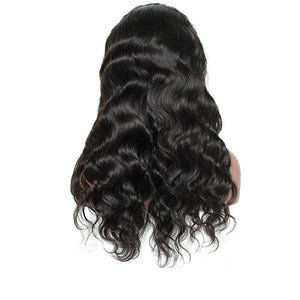 250% Remy Hair Pre-Plucked Brazilian Body Wave Lace Front Wig