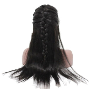 250% Virgin Brazilian Remy Baby Hair Lace Front Wig