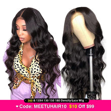 Body Wave Pre Plucked Brazilian Remy 360 Lace Frontal Wig