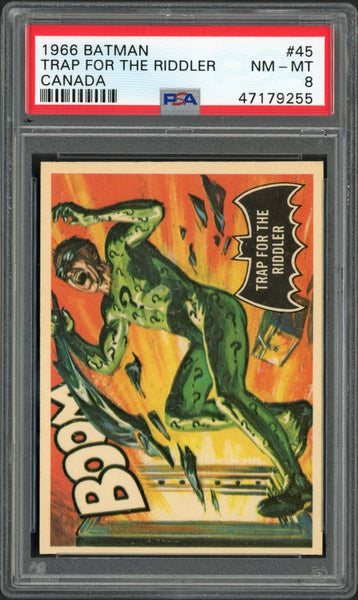 1966 Batman Canada #45 TRAP FOR THE RIDDLER