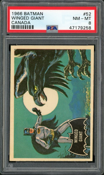 1966 Batman Canada #52 WINGED GIANT