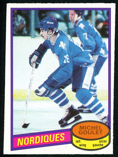 1980 O-Pee-Chee #67 MICHEL GOULET Near Mint+