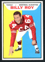 1965 Topps CFL #73 BILLY ROY  Near Mint