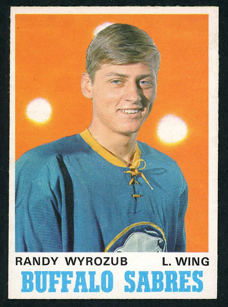 1970 O-Pee-Chee #141 RANDY WYROZUB Near Mint