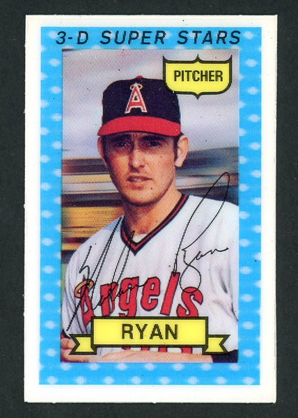 1974 Kelloggs NOLAN RYAN No Cracks  NmMt
