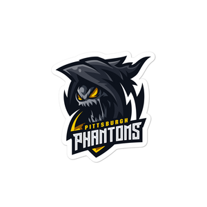 Pittsburgh Phantoms Logo Sticker