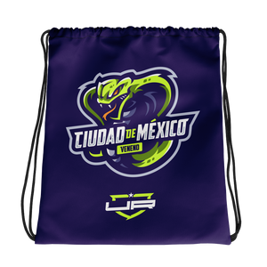 Mexico City Drawstring - Purple