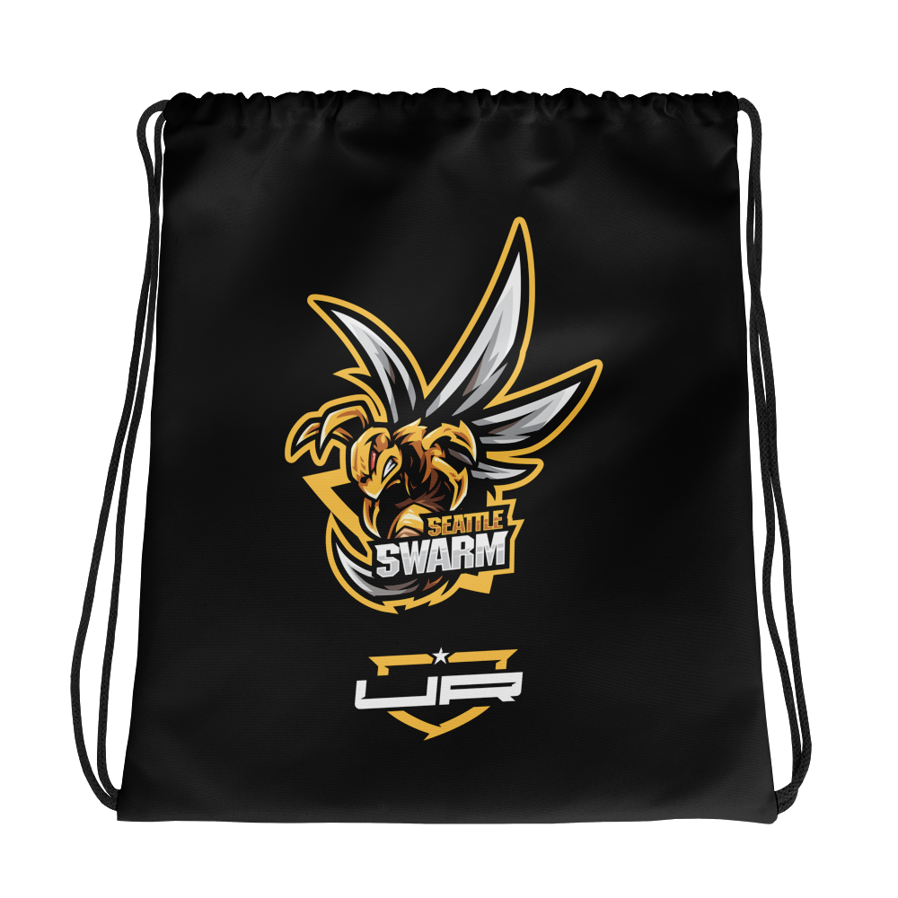 Seattle Swarm Drawstring - Black