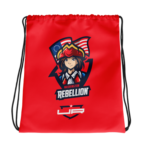 Washington Drawstring - Red