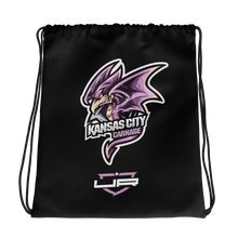Load image into Gallery viewer, Kansas City Drawstring - Black