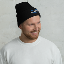 Load image into Gallery viewer, Blue Shield Beanie