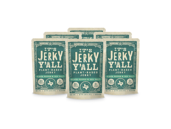 Black Pepper & Sea Salt <br>(6-Pack)