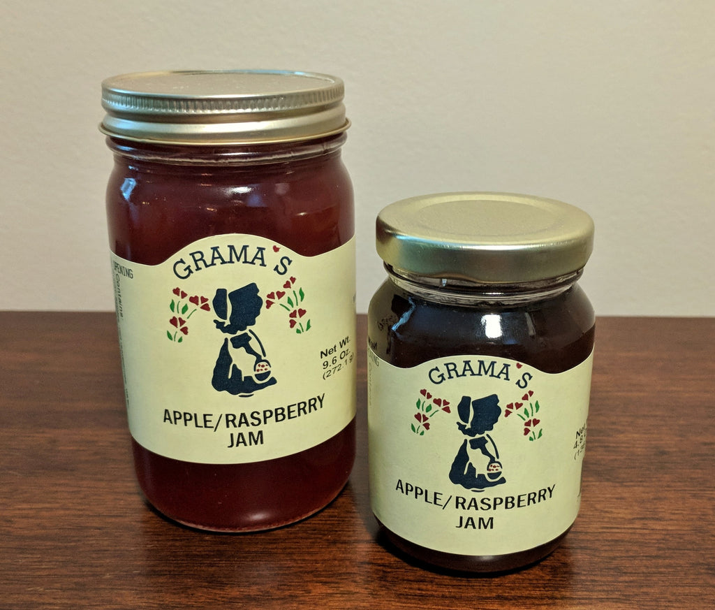 Apple-Raspberry Jam