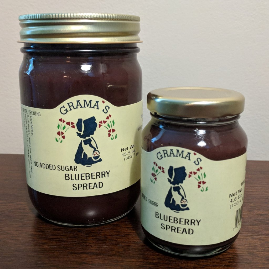 No-Sugar-Added Blueberry Spread