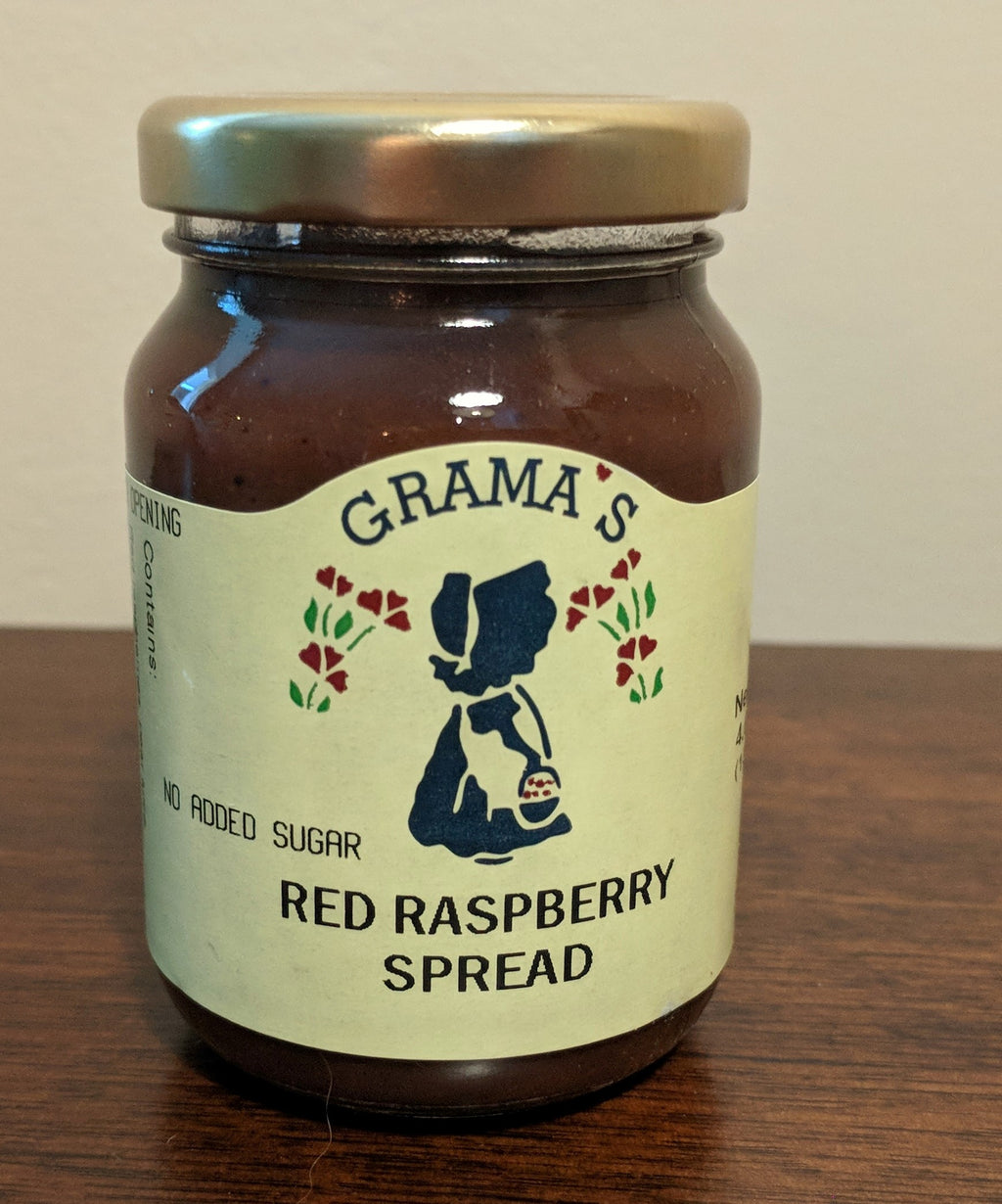 No-Sugar-Added Red Raspberry Spread
