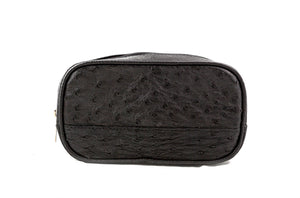 Cosmetic Bag Ostrich Leather Assorted