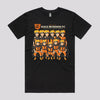 Cool Naruto Anime T-Shirt in Black