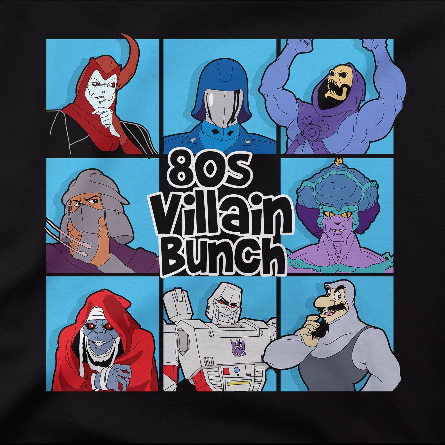 80's Villains Bunch
