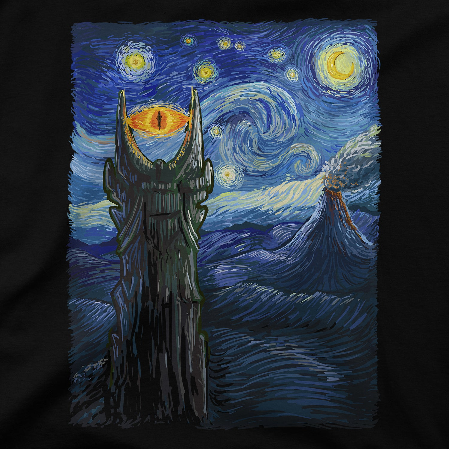 Middle Earth Van Gogh