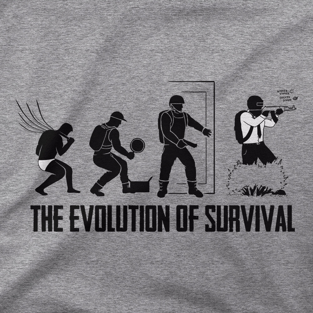 The Evolution of Survival T-Shirt