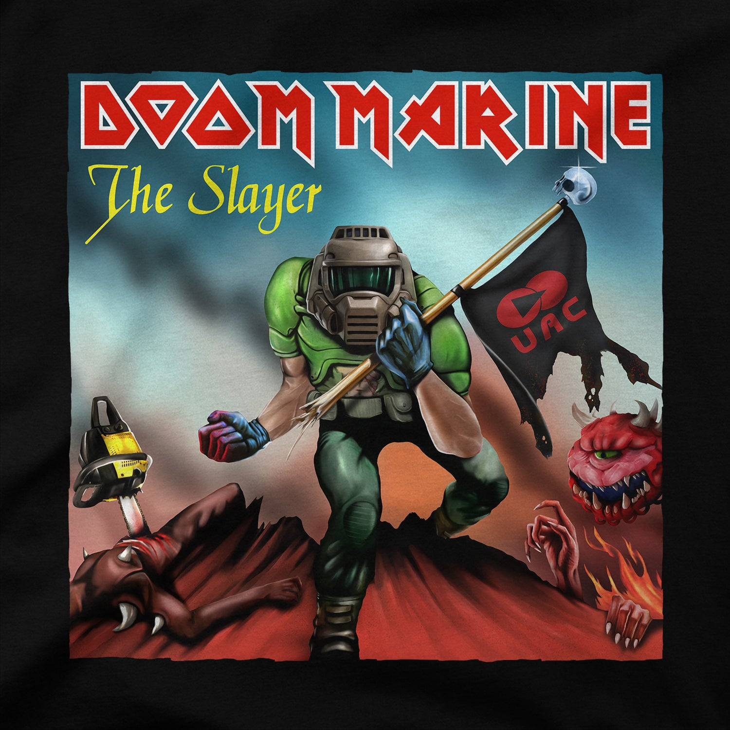Doom Marine Cover