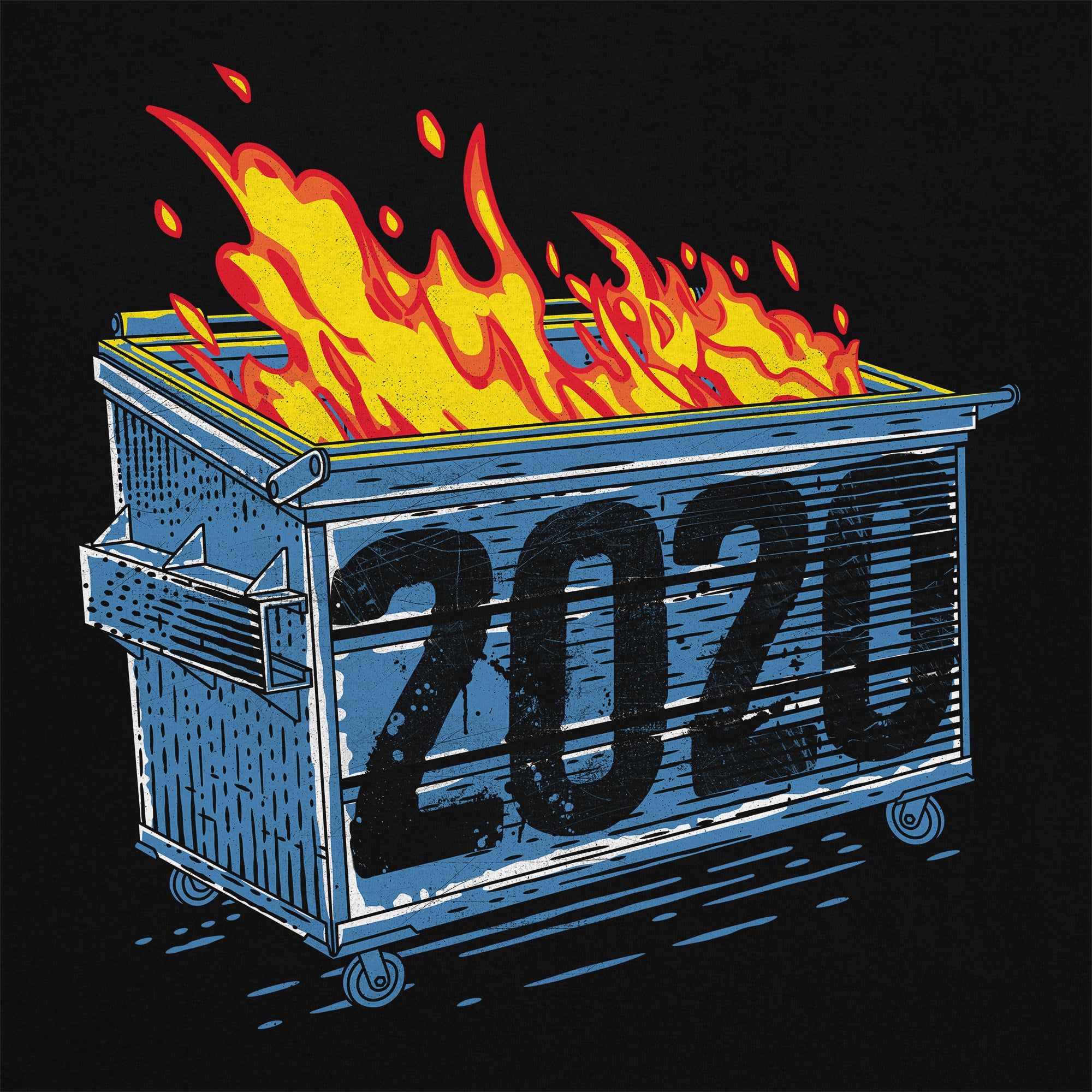 Dumpster Fire 2020 T-Shirt