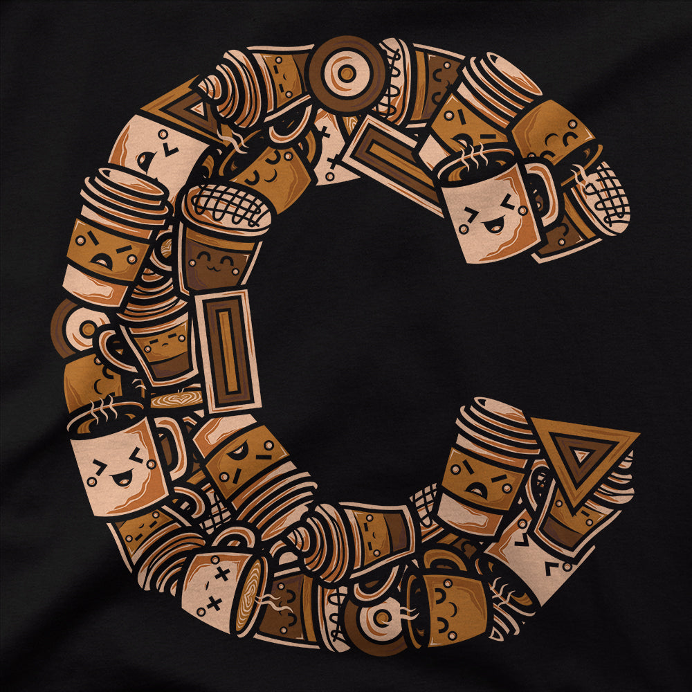 C For Coffee Doodle T-Shirt