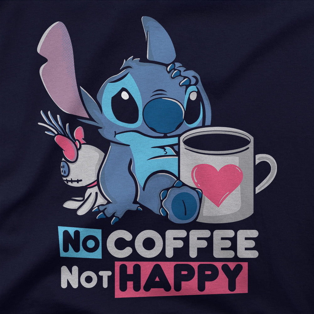 No Coffee Not Happy T-Shirt