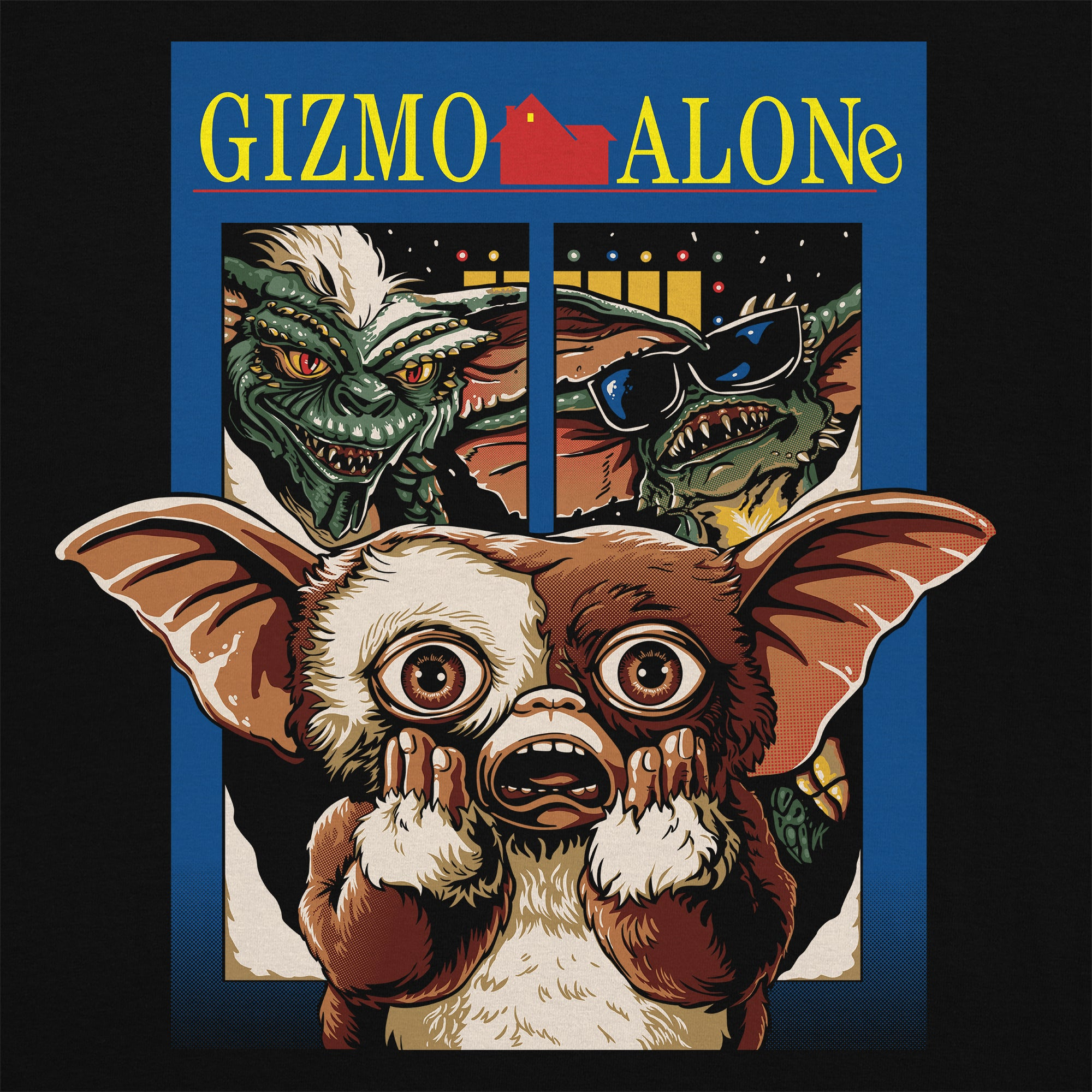 Gizmo Alone T-Shirt