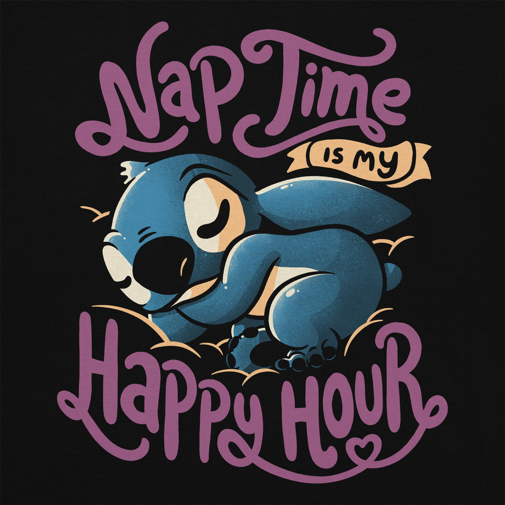 Nap Time Kids T-Shirt