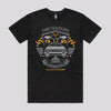 Cool Back To The Future T-Shirt in Black