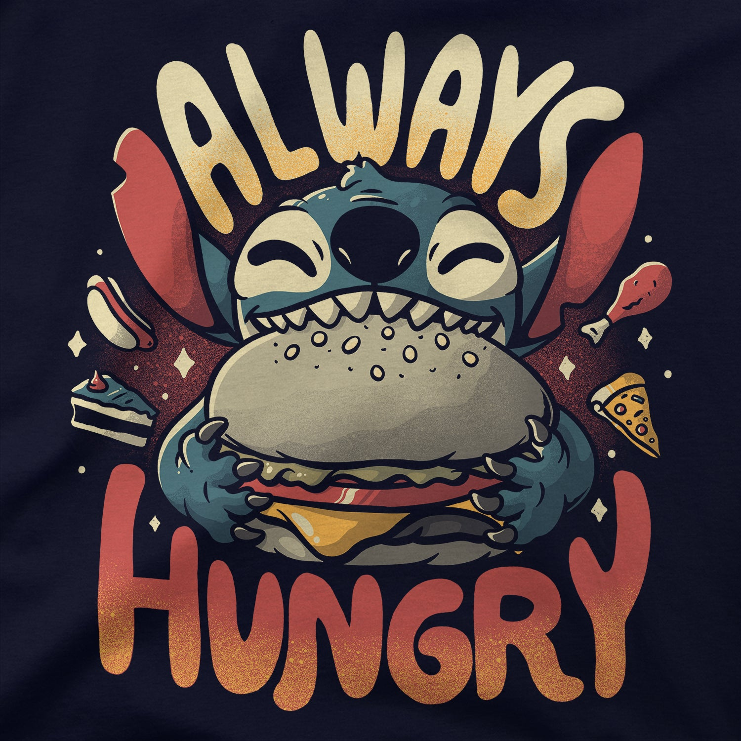 Always Hungry T-Shirt - LIMITEE