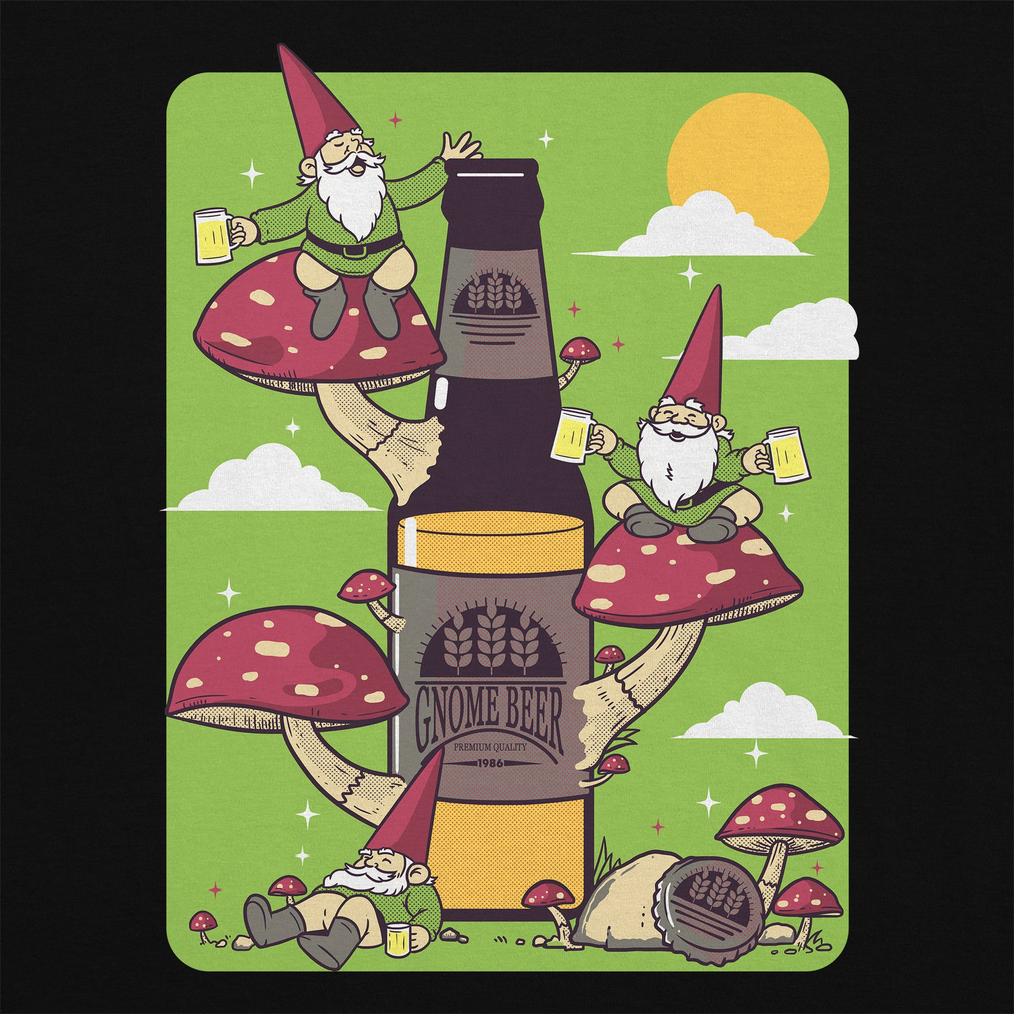 Gnome Beer T-Shirt