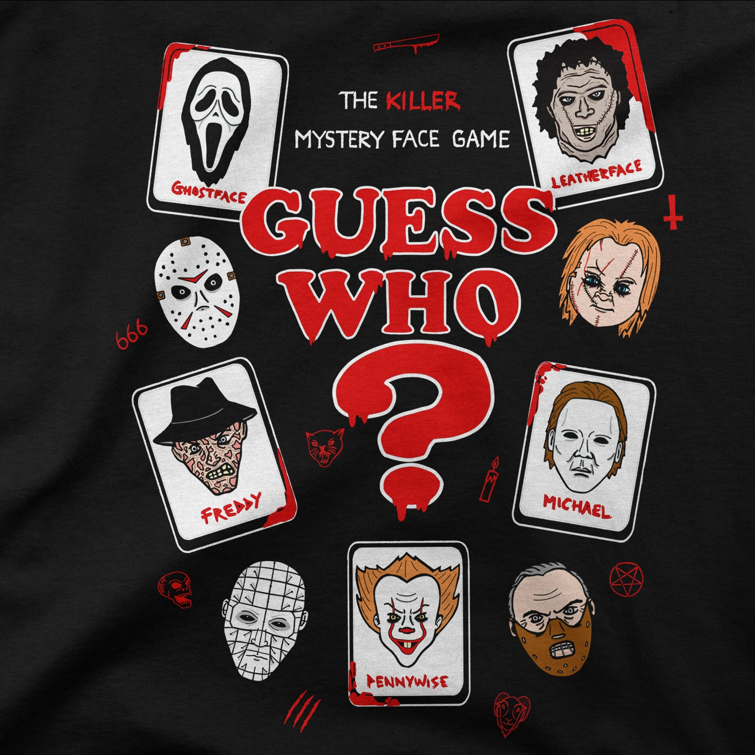 Horror Guess Who